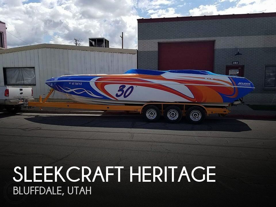 Used Sleekcraft Boats For Sale by owner   2001 30 foot Sleekcraft Heritage