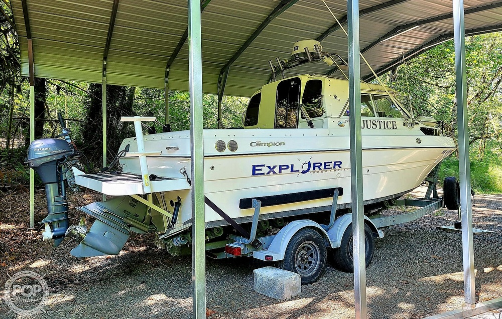 2005 Campion boat for sale, model of the boat is Explorer 622I & Image # 10 of 40