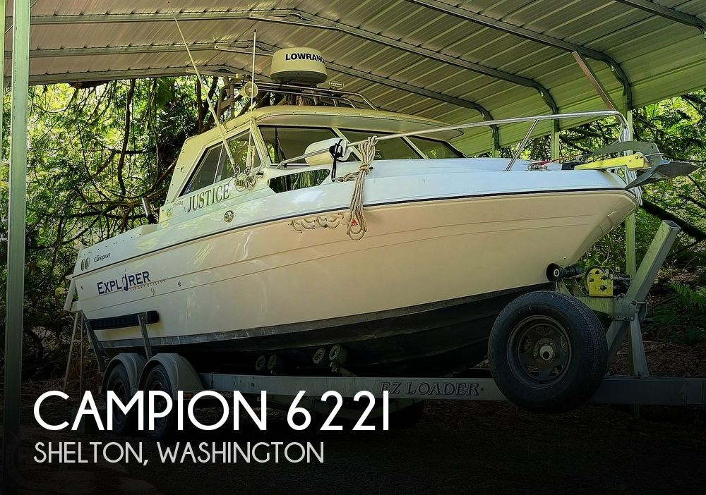 2005 Campion boat for sale, model of the boat is Explorer 622I & Image # 1 of 40