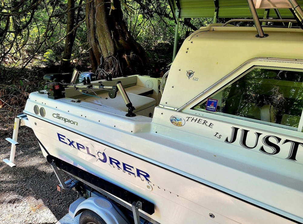 2005 Campion boat for sale, model of the boat is Explorer 622I & Image # 14 of 40