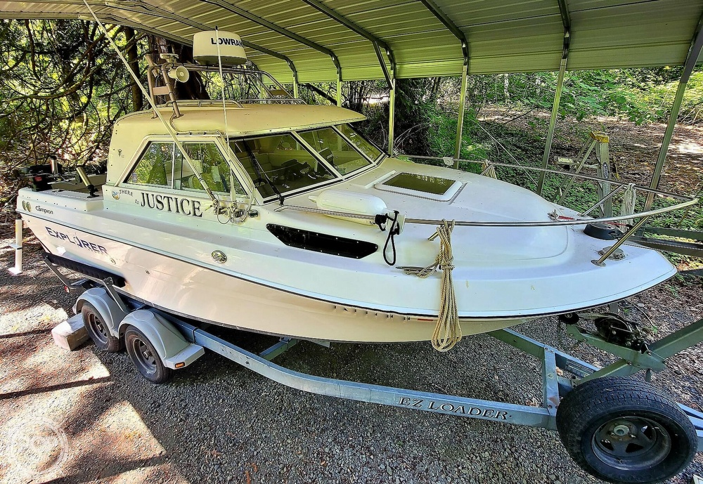 2005 Campion boat for sale, model of the boat is Explorer 622I & Image # 9 of 40