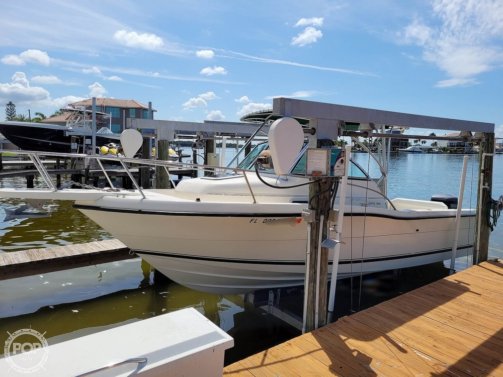 2000 Pursuit boat for sale, model of the boat is 2470 WA & Image # 10 of 40