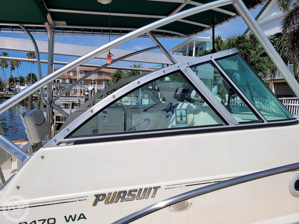 2000 Pursuit boat for sale, model of the boat is 2470 WA & Image # 22 of 40