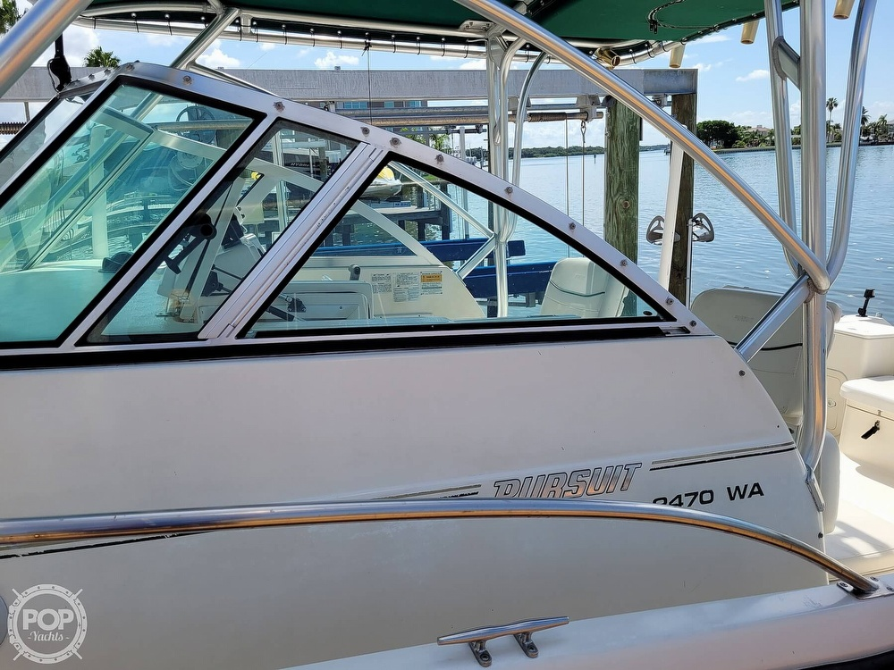 2000 Pursuit boat for sale, model of the boat is 2470 WA & Image # 31 of 40