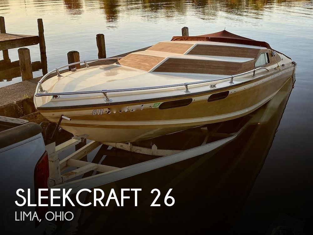 1978 Sleekcraft boat for sale, model of the boat is Ambassador 26 & Image # 1 of 17