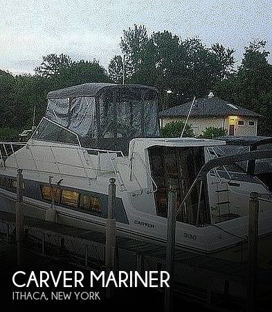 Used Carver Motoryachts For Sale in New York by owner | 1995 32 foot Carver Mariner