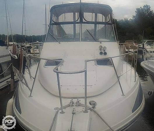 1995 Carver boat for sale, model of the boat is 330 Mariner & Image # 3 of 40