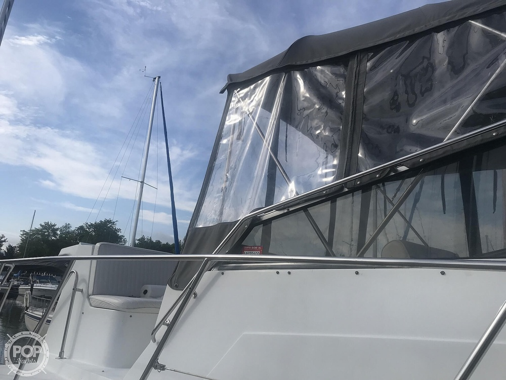 1995 Carver boat for sale, model of the boat is 330 Mariner & Image # 20 of 40
