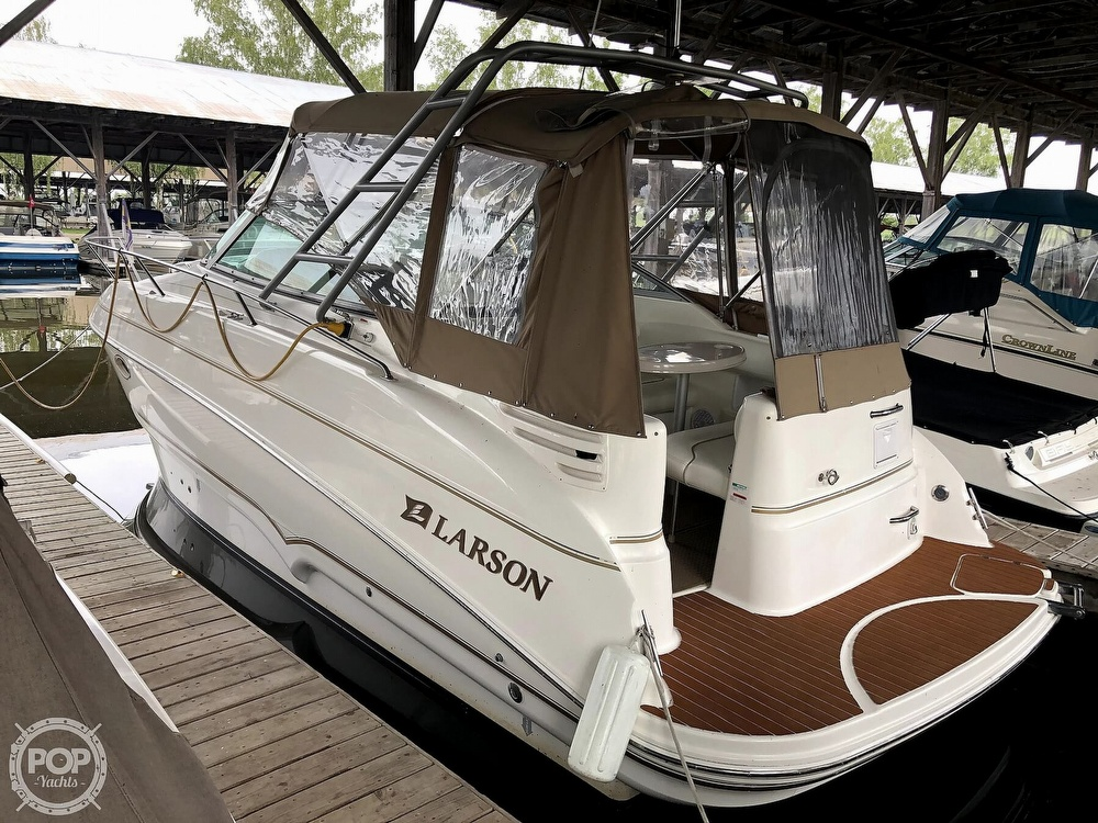 2002 Larson boat for sale, model of the boat is 274 Cabrio & Image # 4 of 40