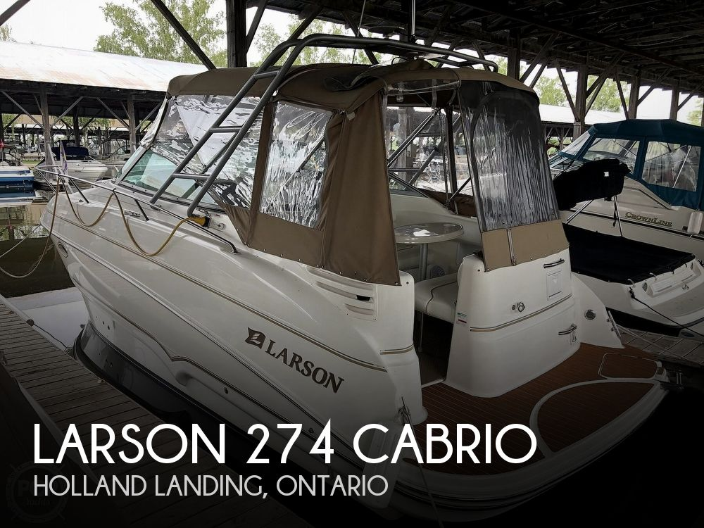 2002 Larson boat for sale, model of the boat is 274 Cabrio & Image # 1 of 40