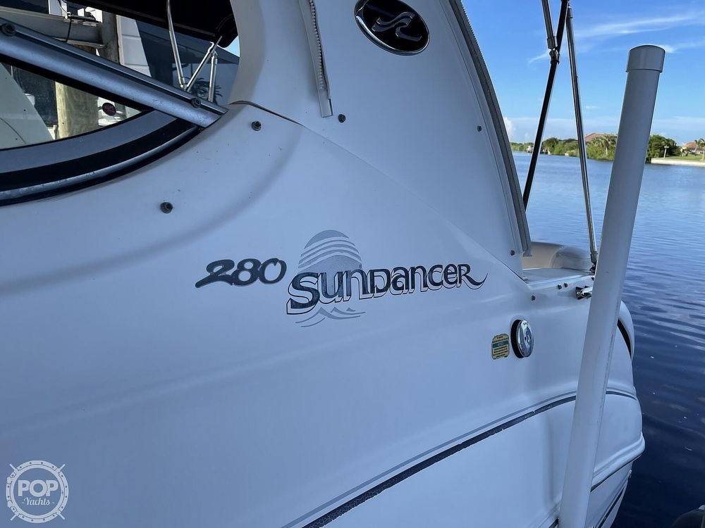 2005 Sea Ray boat for sale, model of the boat is 280 Sundancer & Image # 22 of 40