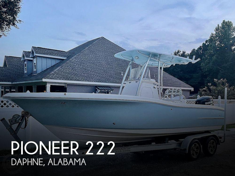 2014 PIONEER 222 SPORTFISH for sale