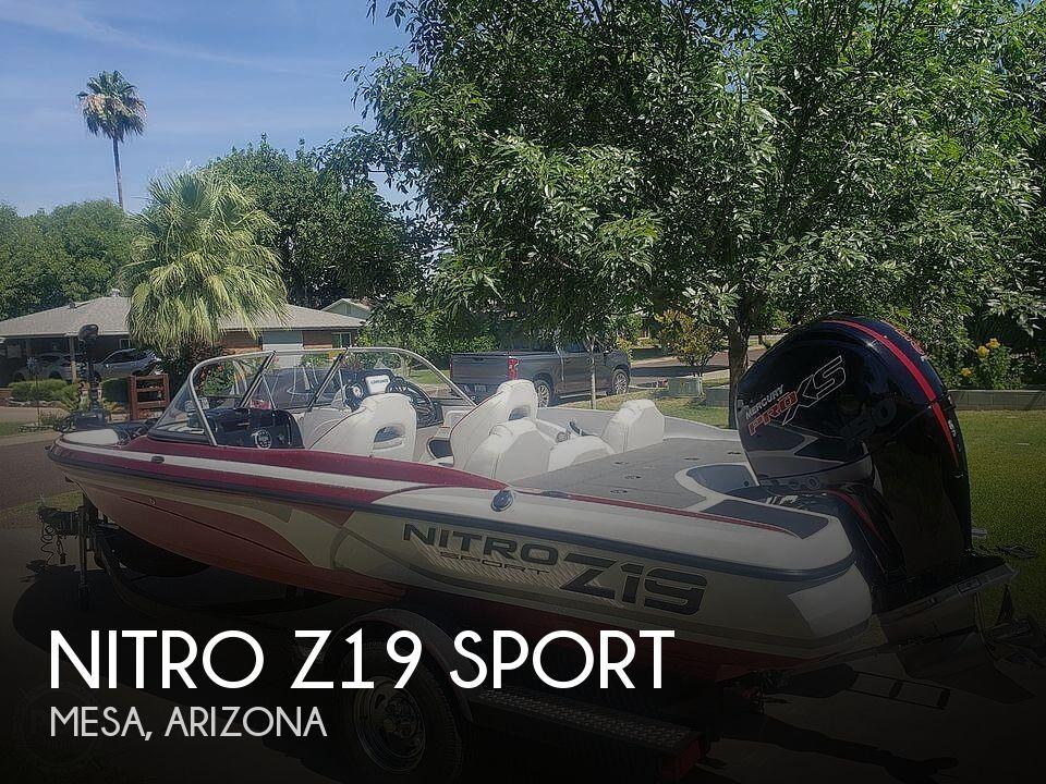 2019 Nitro boat for sale, model of the boat is Z19 Sport & Image # 1 of 40