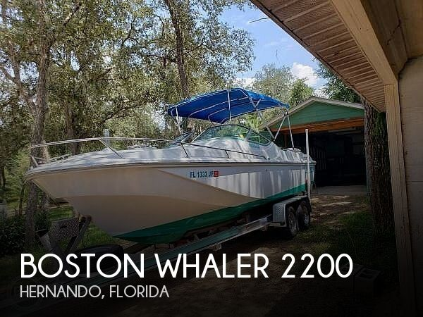 Used Boston Whaler 22 Boats For Sale by owner | 1987 Boston Whaler Temptation 2200