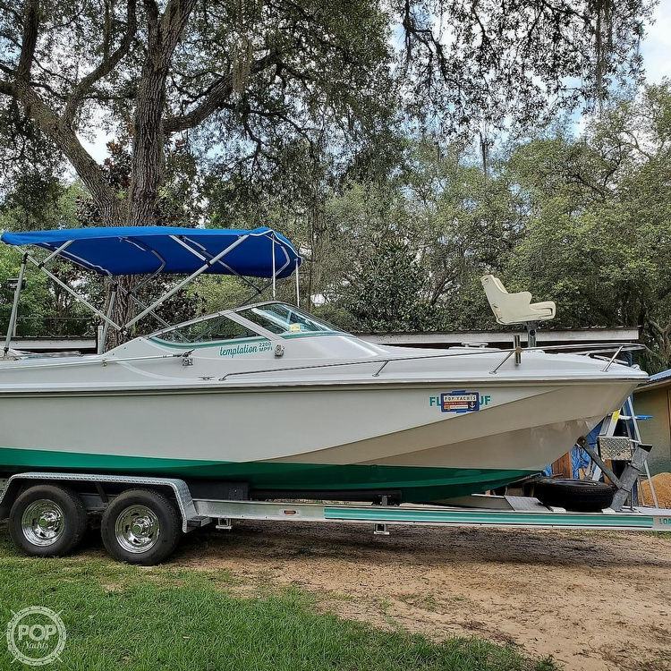 1987 Boston Whaler boat for sale, model of the boat is 2200 Temptation MPFI & Image # 11 of 40