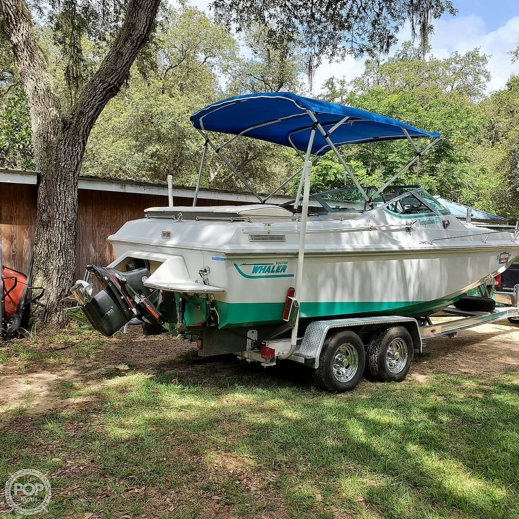 1987 Boston Whaler boat for sale, model of the boat is 2200 Temptation MPFI & Image # 14 of 40