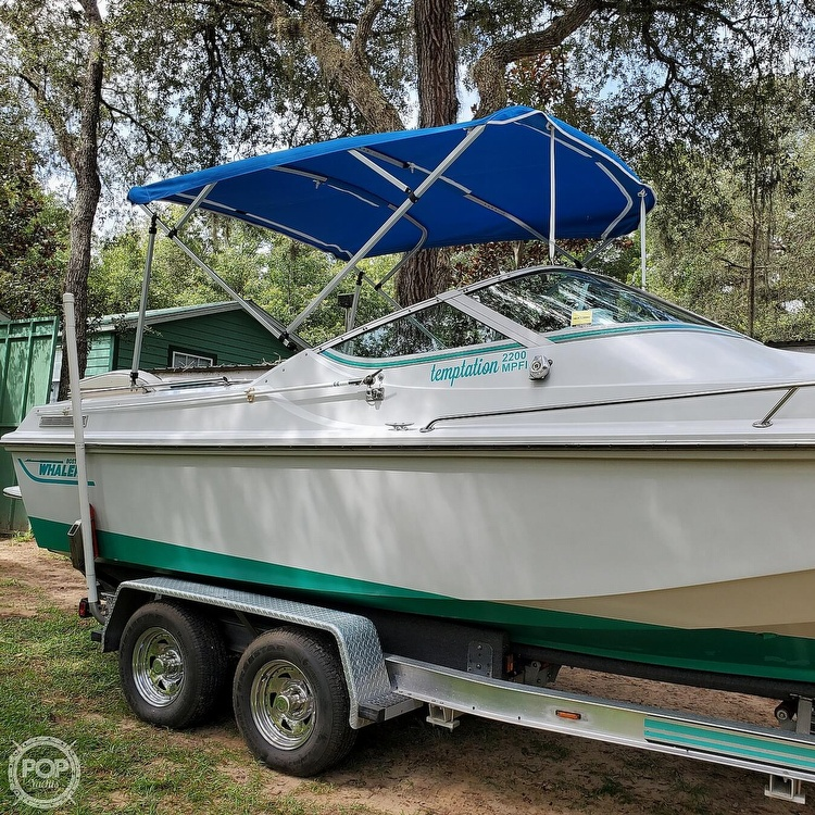 1987 Boston Whaler boat for sale, model of the boat is 2200 Temptation MPFI & Image # 15 of 40