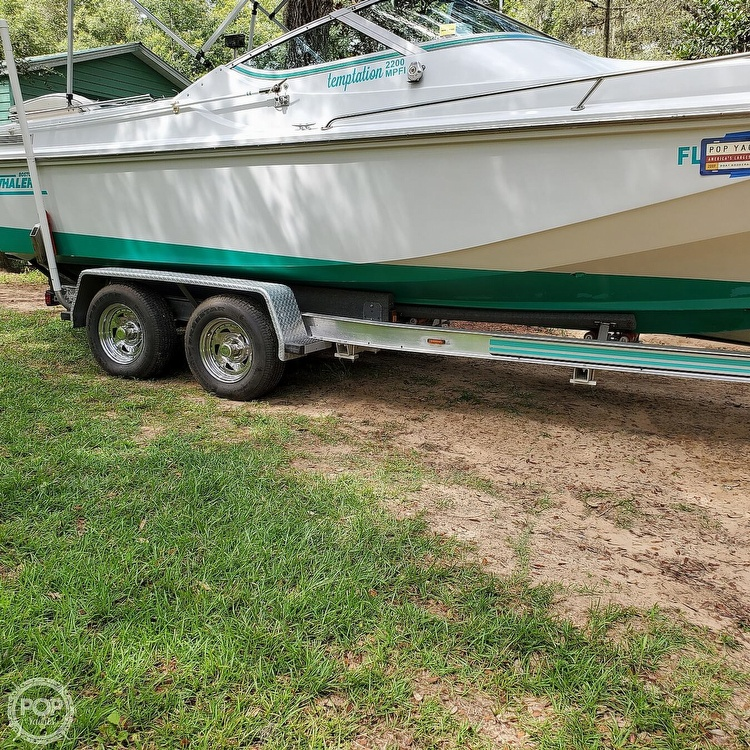 1987 Boston Whaler boat for sale, model of the boat is 2200 Temptation MPFI & Image # 16 of 40