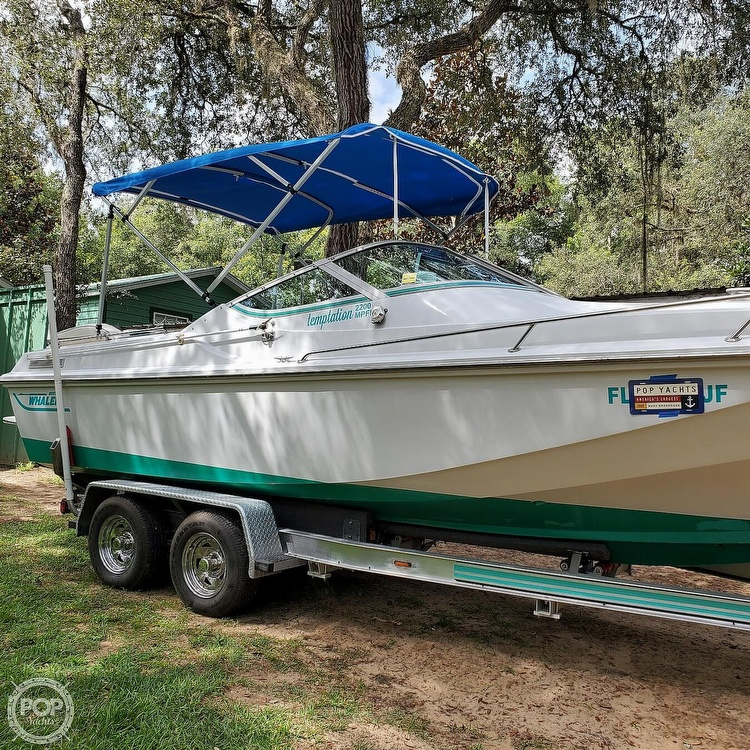 1987 Boston Whaler boat for sale, model of the boat is 2200 Temptation MPFI & Image # 17 of 40