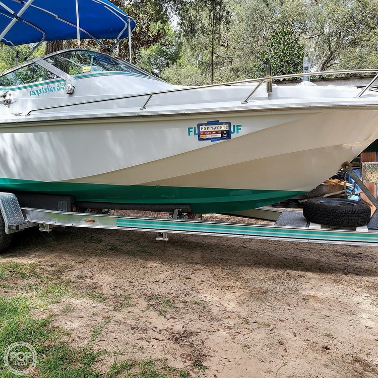 1987 Boston Whaler boat for sale, model of the boat is 2200 Temptation MPFI & Image # 18 of 40