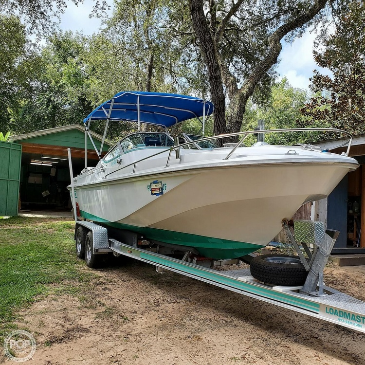 1987 Boston Whaler boat for sale, model of the boat is 2200 Temptation MPFI & Image # 4 of 40
