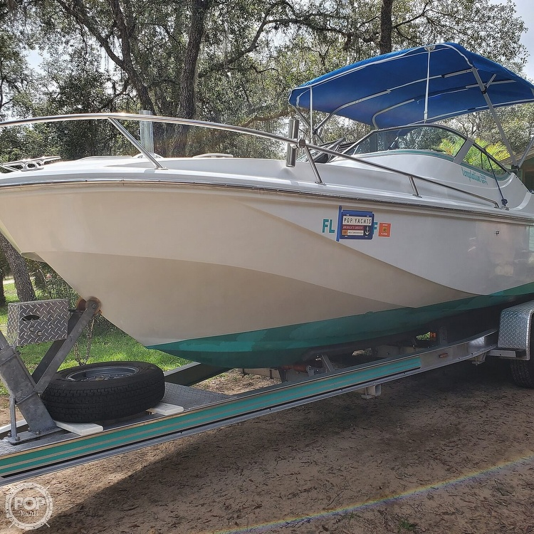 1987 Boston Whaler boat for sale, model of the boat is 2200 Temptation MPFI & Image # 23 of 40