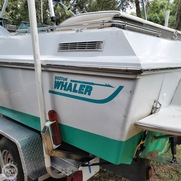 1987 Boston Whaler boat for sale, model of the boat is 2200 Temptation MPFI & Image # 30 of 40