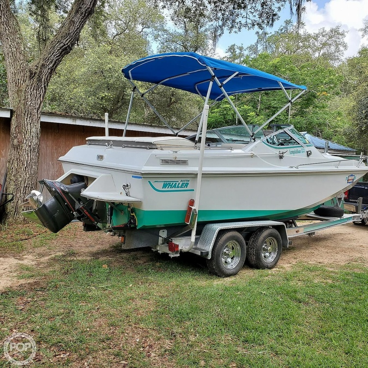 1987 Boston Whaler boat for sale, model of the boat is 2200 Temptation MPFI & Image # 34 of 40