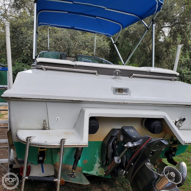 1987 Boston Whaler boat for sale, model of the boat is 2200 Temptation MPFI & Image # 35 of 40