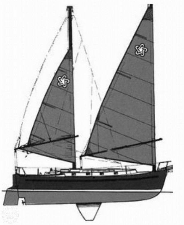 1982 Freedom Yachts boat for sale, model of the boat is Cat Ketch 33 & Image # 5 of 40