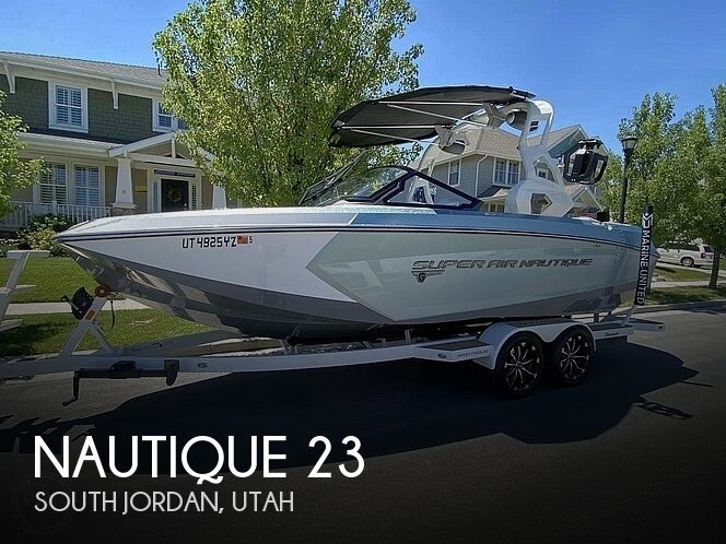 Used Power boats For Sale in Salt Lake City, Utah by owner | 2019 Nautique Super Air Nautique G23