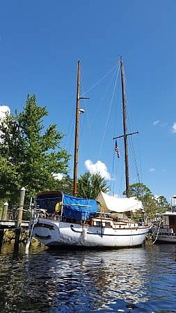 1977 Formosa boat for sale, model of the boat is 41 Ketch & Image # 4 of 40
