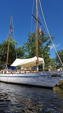 1977 Formosa boat for sale, model of the boat is 41 Ketch & Image # 5 of 40
