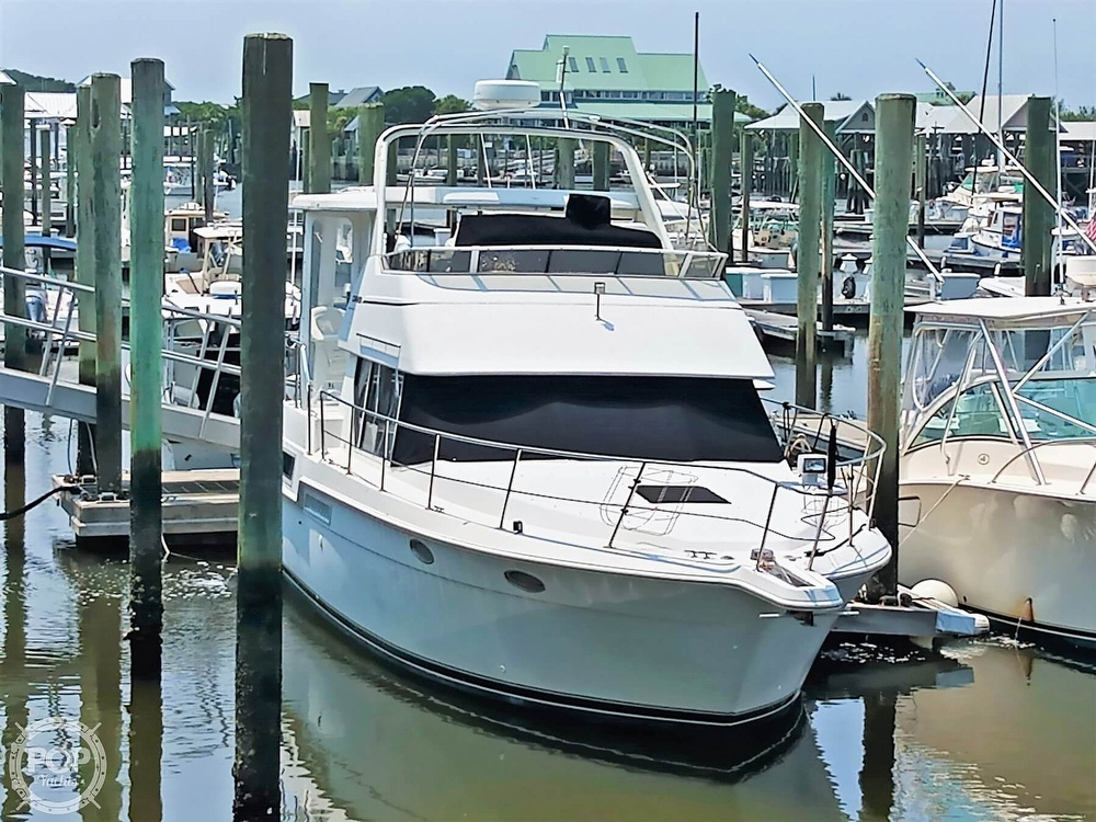 1997 Carver boat for sale, model of the boat is 355 AFT CABIN & Image # 2 of 40