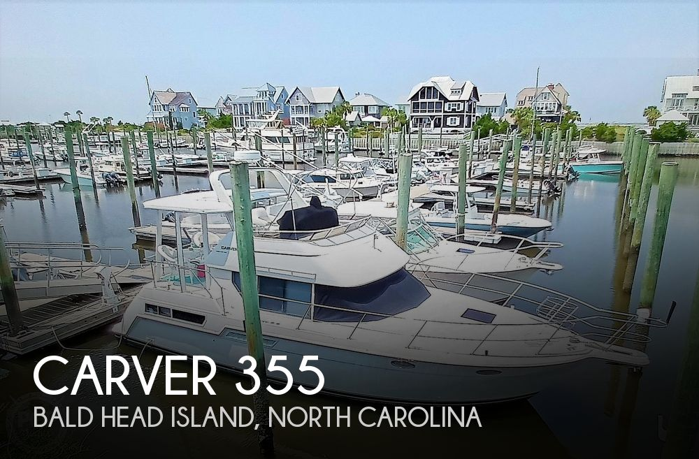 1997 Carver boat for sale, model of the boat is 355 AFT CABIN & Image # 1 of 40