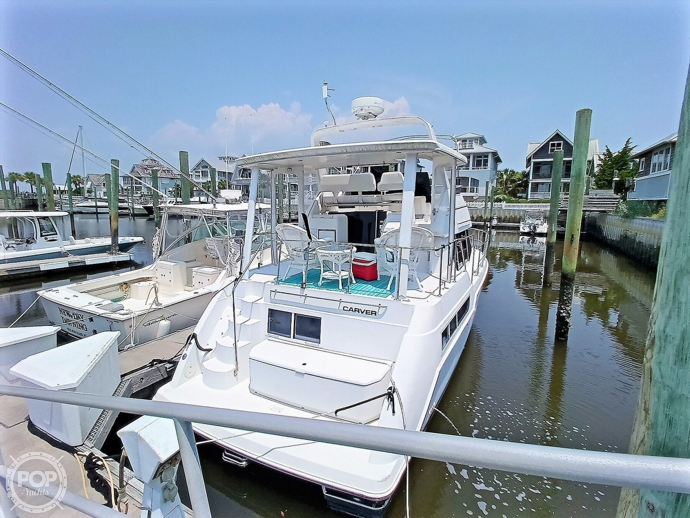 1997 Carver boat for sale, model of the boat is 355 AFT CABIN & Image # 6 of 40