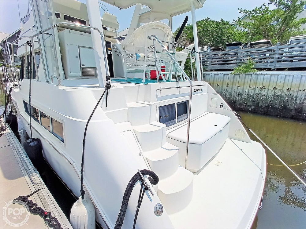 1997 Carver boat for sale, model of the boat is 355 AFT CABIN & Image # 10 of 40