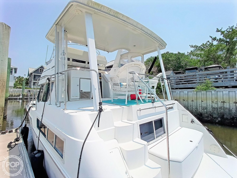 1997 Carver boat for sale, model of the boat is 355 AFT CABIN & Image # 11 of 40