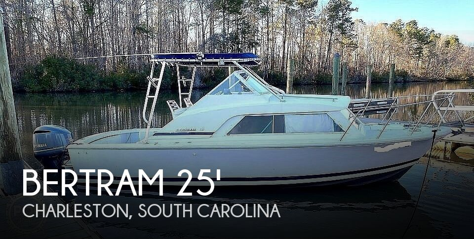 1970 Bertram boat for sale, model of the boat is 25' Cabin Cruiser & Image # 1 of 40