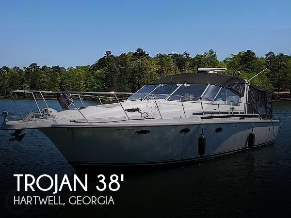 1989 Trojan boat for sale, model of the boat is 11 Meter Express 370 & Image # 1 of 40