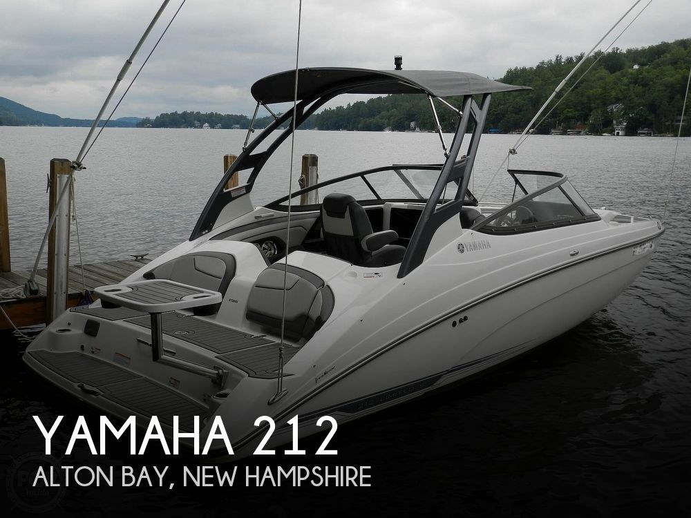 2017 Yamaha boat for sale, model of the boat is 212 Limited S & Image # 1 of 40