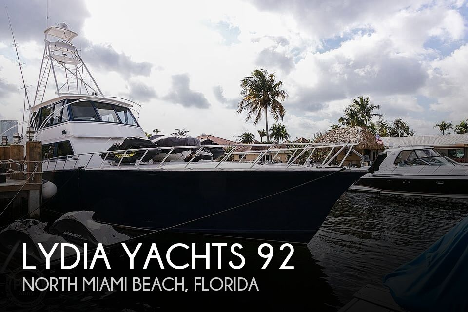 Used Fishing boats For Sale by owner   1992 Lydia Yachts 92 Sportfisher