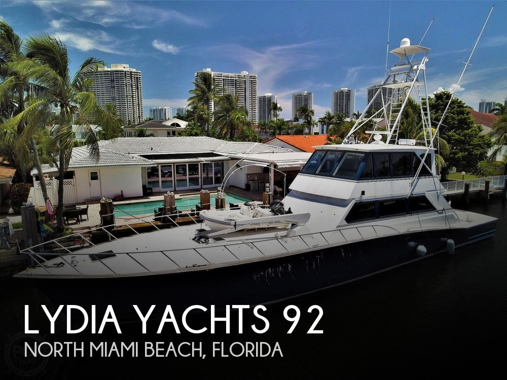 1992 Lydia Yachts boat for sale, model of the boat is 92 Sportfisher & Image # 1 of 40