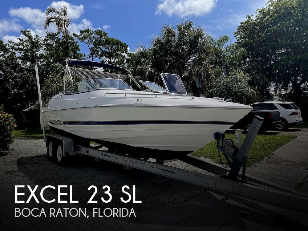 1995 Excel boat for sale, model of the boat is 23 SL & Image # 1 of 40