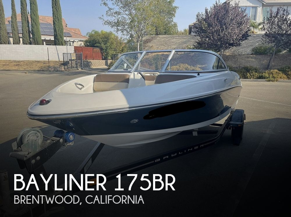 2015 Bayliner boat for sale, model of the boat is 175BR & Image # 1 of 40