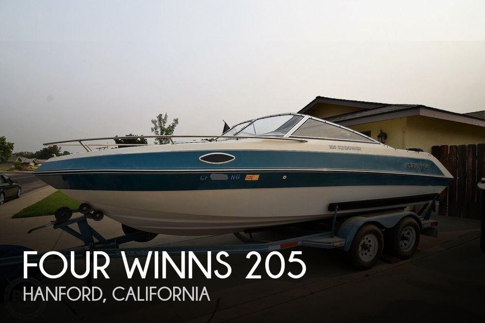 1992 FOUR WINNS 205 SUNDOWNER for sale