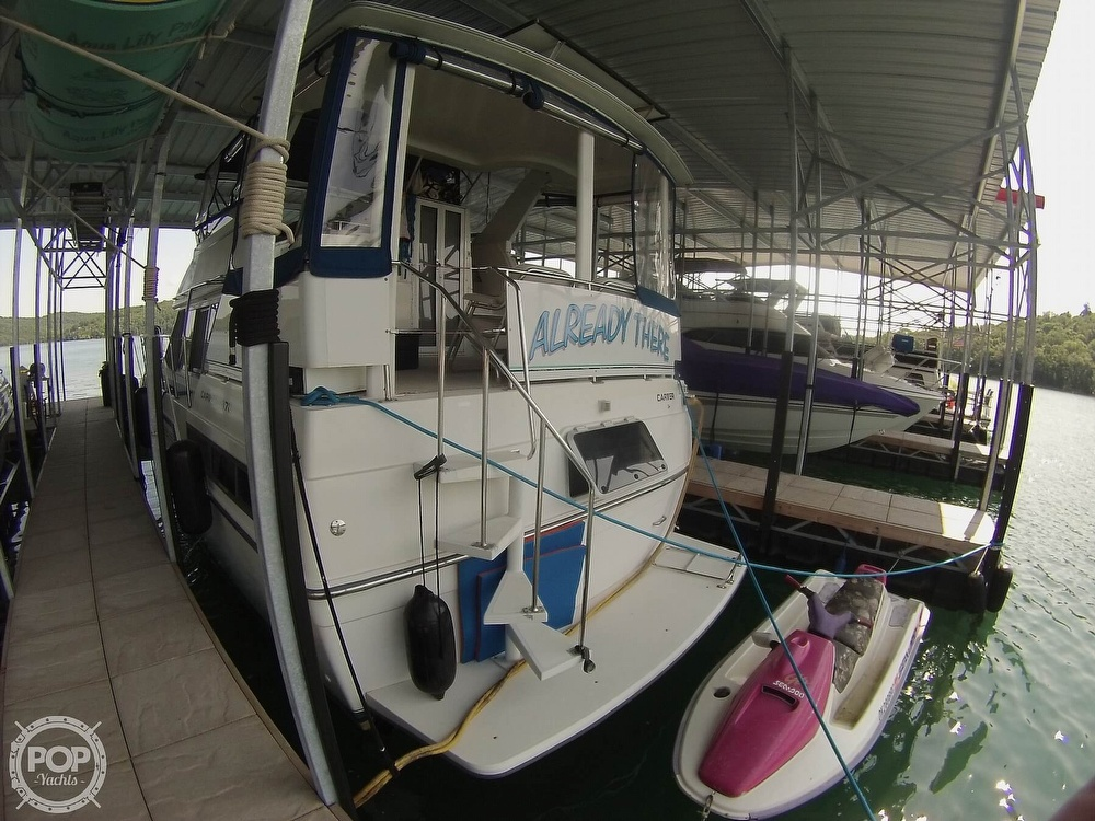 1995 Carver boat for sale, model of the boat is 370 Aft Cabin & Image # 26 of 40