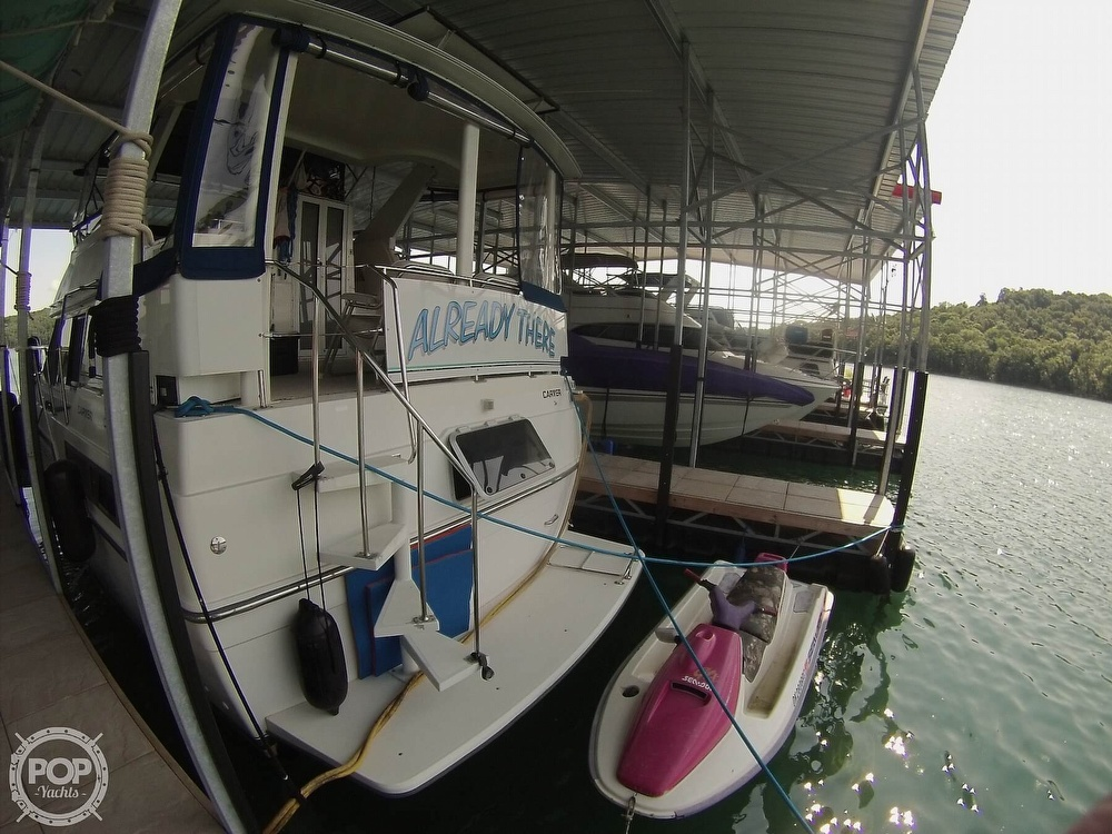 1995 Carver boat for sale, model of the boat is 370 Aft Cabin & Image # 27 of 40