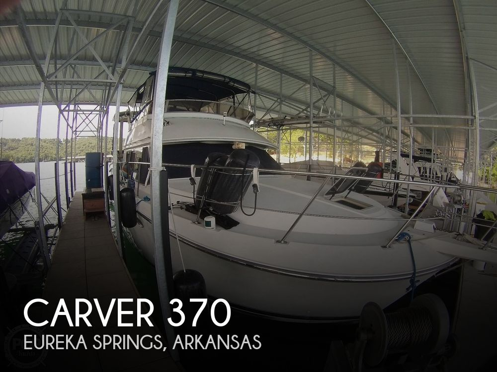 1995 Carver boat for sale, model of the boat is 370 Aft Cabin & Image # 1 of 40