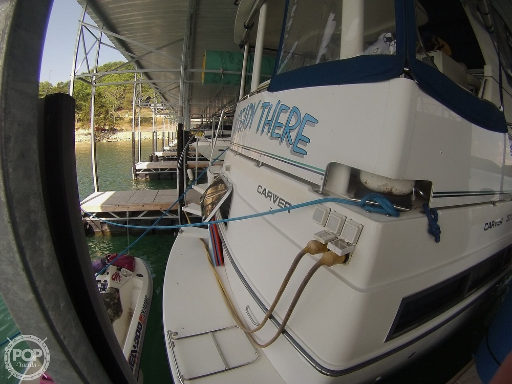 1995 Carver boat for sale, model of the boat is 370 Aft Cabin & Image # 36 of 40